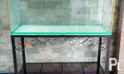 Fish Tank with Stand for sale. Capacity 75 gallons,