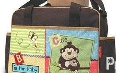 Product Description: This cute colorful diaper bag