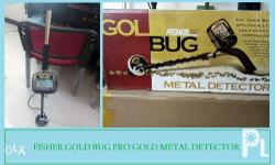 The Gold Bug Pro is a sensitive 19 kHz detector that is