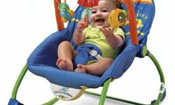 Infant-to-toddler rocker is an infant seat that