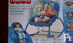 For sale Fisher Price infant to toddler rocker,