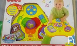 Fisher Price Lights and Sounds Activity Table Toddler
