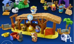 FOR SALE Little People Nativity Gift Set P5,000.00 -Set