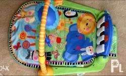 BRANDNEW! Fisher Price kick and play piano playgym with