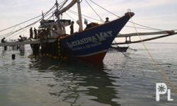 For Sale Fishing Boat 6d22 fuso makina lengh =