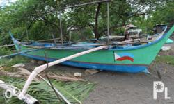 Fishing or Tourist Boat For Sale (motor and fishingNet