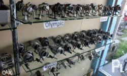 For Sale reels Good as new , Good condition Japan used