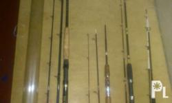 rod big field 10ft 3pc carbon fuji reel set and ring