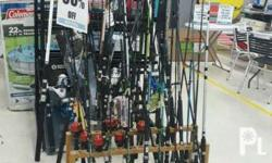 Fishing rods come with different lengths ideal for your