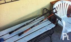 FISHING RODS red color - Php700 (14 feet) STILL