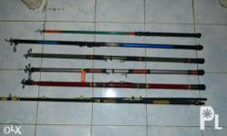 strong fishing rods, no reels, 1500 each address: