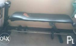 Selling: Good Condition Adjustable Fitness Bench Metal