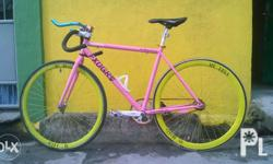Fixie! Fixed gear for sale. Rush na po. Pambayad lang