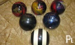 BALL SALE! GET THEM NOW! For Sale: Used Bowling Balls.