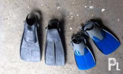 for sale flippers fin. 2 set available. P1500 per set.