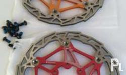 floating rotors bnew 160mm 1k fixed/pair