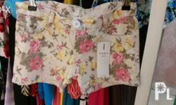 sexy floral short very fit for any tops fit for any