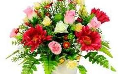 We arrange flowers for all occasions. We deliver them.
