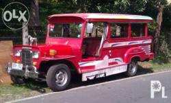 Model 2003, Francisco Motor Corporation (FMC) Jeepney.