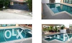 Luxury skimmer swimming pool 6m x 4m to benefit Bali