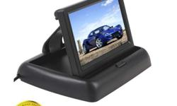 FOLDING 4.3 INCH COLOR TFT LCD CAR REAR VIEW MONITOR