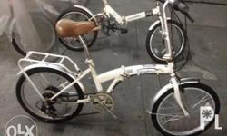 Folding bike for sale.. Ridgetop brand.. Japan