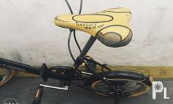 folding bike disc break