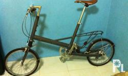 moulton -rare bike -shimano 105 parts -collapsible