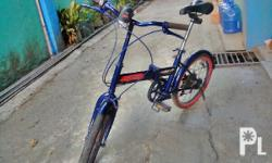 for sale folding bike,with new tires,with new seat,good
