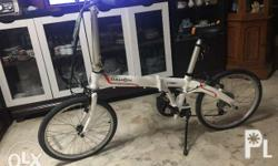 Brand new Folding Bike from DAHON Rush sale. Reason for