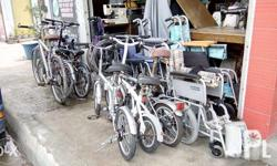 Japan folding bike new stocks clean and ready to use