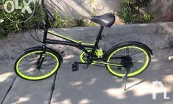 Selling my folding bike for only 5k fix price na po..