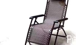 Good to relax +Heavy duty foldable relaxing chair +Easy