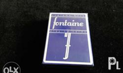 The 2nd edition to the iconic FONTAINE Cards by Zack M