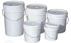 Food Grade PAIL PAILS bucket buckets Plastic container