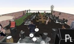 VINE YARD Food park spaces for lease Location: 120