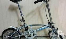 For Sale: Unique folding 5Links folding bike , Shimano