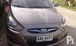 Hyundai Accent with GPS and rear video 16in. rims