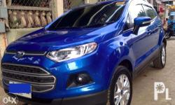 FOR ASSUME/SWAP FORD Ecosport Trend 2015 Mileage