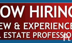 Hiring Real Estate Agent Part Time or Full Time Extra