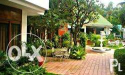 29 rooms with air-con; 5 cottages non-aircon; with