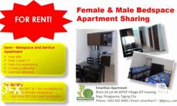 New condo style apartment. One ride to Mckenly, BGC, SM
