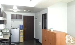 For rent furnished studio unit in Manhattan Parkway