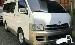 For rent Grandia GL w/ driver no selfdrive To any point