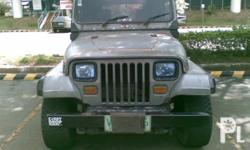 For sale wrangle type jeep, 1st owner, 2002 model,Build