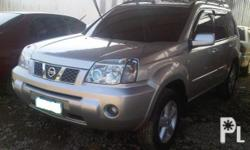 Deskripsiyon For sale : 2007 Nissan Xtrail 4x2