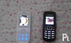 Two cellphones for sale: 1. Samsung GT-E1080F (Specs: