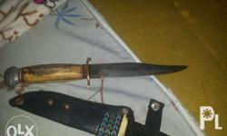 Jim bowie knife.antique handmade knife from the early