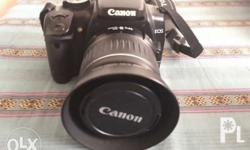 Price: 10k negotiable Canon EOS 400D digital with