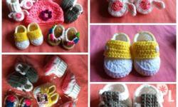 MADE TO ORDER:Baby Shoes and Sandals ~ Perfect For